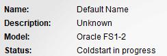Oracle FS1-2存储 pilot 启动过程分析